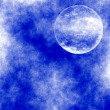 Daily Moon. Imaginary Daily Moon - Background Suitable for Custom Content Royalty Free Stock Photography