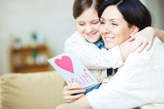 Day of mother Royalty Free Stock Images