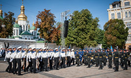 Day of the National Flag in Ukraine Royalty Free Stock Photos