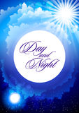 Day and night Stock Image