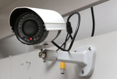 Day & Night Color IP camera Stock Photo