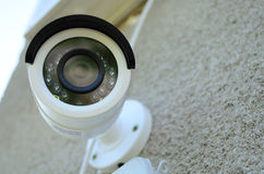 Day & Night Color IP surveillance camera Stock Photo