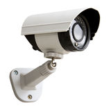 Day & Night Color IP surveillance camera Stock Photography