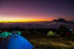 Prau mountain stock photography
