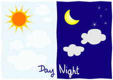 Day and night Stock Images