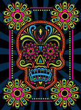 Day Of The Dead Candy Skull Royalty Free Stock Image