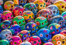 Day Of The Dead Skulls Royalty Free Stock Photography