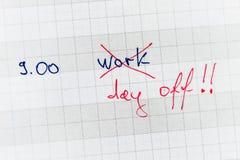 Day off Stock Photos