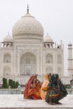 Day Out at the Taj Mahal Royalty Free Stock Image