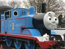 Day Out with Thomas at Essex Steam Train in Connecticut Royalty Free Stock Photo