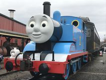 Day Out with Thomas at Essex Steam Train in Connecticut Royalty Free Stock Photos