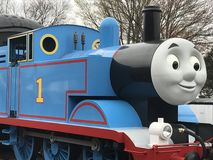 Day Out with Thomas at Essex Steam Train in Connecticut Stock Photo