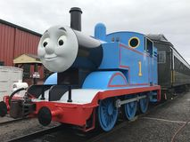 Day Out with Thomas at Essex Steam Train in Connecticut Stock Images