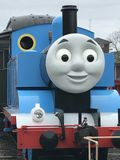 Day Out with Thomas at Essex Steam Train in Connecticut Royalty Free Stock Image