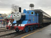 Day Out with Thomas at Essex Steam Train in Connecticut Stock Photography