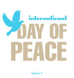 Day of peace Royalty Free Stock Photography