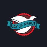 Day of Peace Logo. Vector Illustration. EPS 10 Stock Photo