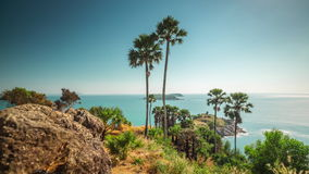 Day phuket famous observation deck panorama 4k time lapse thailand stock video