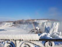 Niagara Falls Frozen stock photos