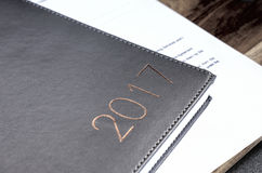 2017 day planner Royalty Free Stock Photos