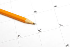 Day Planner Stock Image
