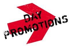 Day Promotions rubber stamp Royalty Free Stock Photos