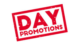 Day Promotions rubber stamp Royalty Free Stock Photography