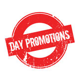 Day Promotions rubber stamp Stock Images