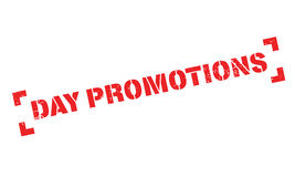 Day Promotions rubber stamp Royalty Free Stock Images