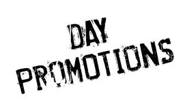 Day Promotions rubber stamp Stock Photo