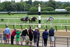 A Day At The Races- Belmont Park New York Stock Photo
