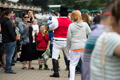 A Day At The Races- Belmont Park New York Royalty Free Stock Images