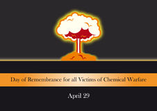 Day of Remembrance for all Victims of Chemical Warfare Royalty Free Stock Photography