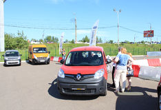 Day Renault in Krasnoyarsk Stock Images