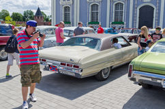 Day of Russia in Tula Stock Images