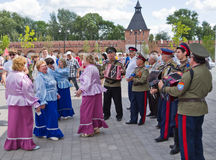 Day of Russia in Tula Royalty Free Stock Images