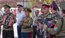 Day of Russia in Tula Royalty Free Stock Photography