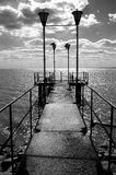 Day's pier. Royalty Free Stock Image