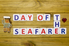 Day a seafarer, celebrated as national holidays Royalty Free Stock Image