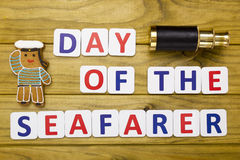 Day a seafarer, celebrated as national holidays Stock Photos