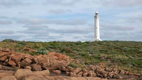 Day shot of cape leeuwin lighthouse in western australia royalty free stock image