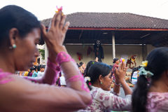 Day of Silence in Ubud, Bali, Indonesia Royalty Free Stock Photo