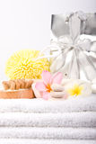 Day Spa Pedicure Products Stock Photo