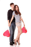 Day of the st. Valentine Stock Photography