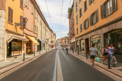 Day street in Parma, Italy, Stock Photos