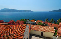 Day in the summer. In Montenegro Royalty Free Stock Image