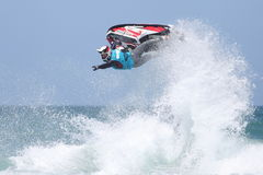 Day Three - Rippin H2O Jetski Championship at Fistral Beach in N Royalty Free Stock Image