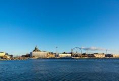Day time Helsinki harbor Royalty Free Stock Photography