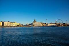 Day time Helsinki harbor Stock Photo