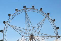 Day time Melbourne Star view royalty free stock photos